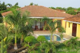 Nicaraguan Provencail Backyard with Pool – Best Places In The World To Retire – International Living